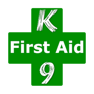 Dog first aid training logo